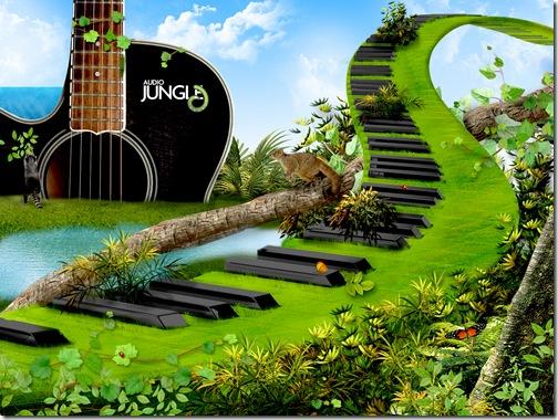 wallpaper-audio jungle