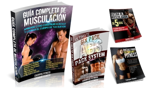SUPER PACK FITNESS [ Libro ] &#8211; La Gua Completa De Musculacin y Rutina Para Lograr Six Pack ABS Para Hombres y Mujeres