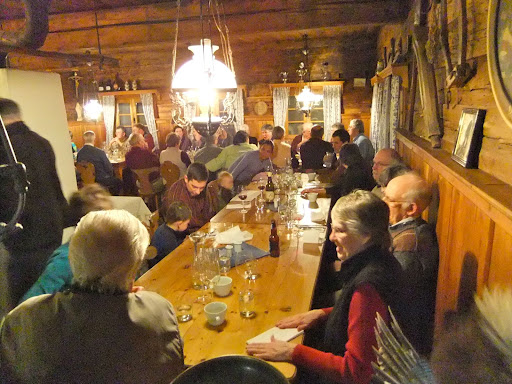 Dinner at the old bauernhaus restaurant for kimberley united church