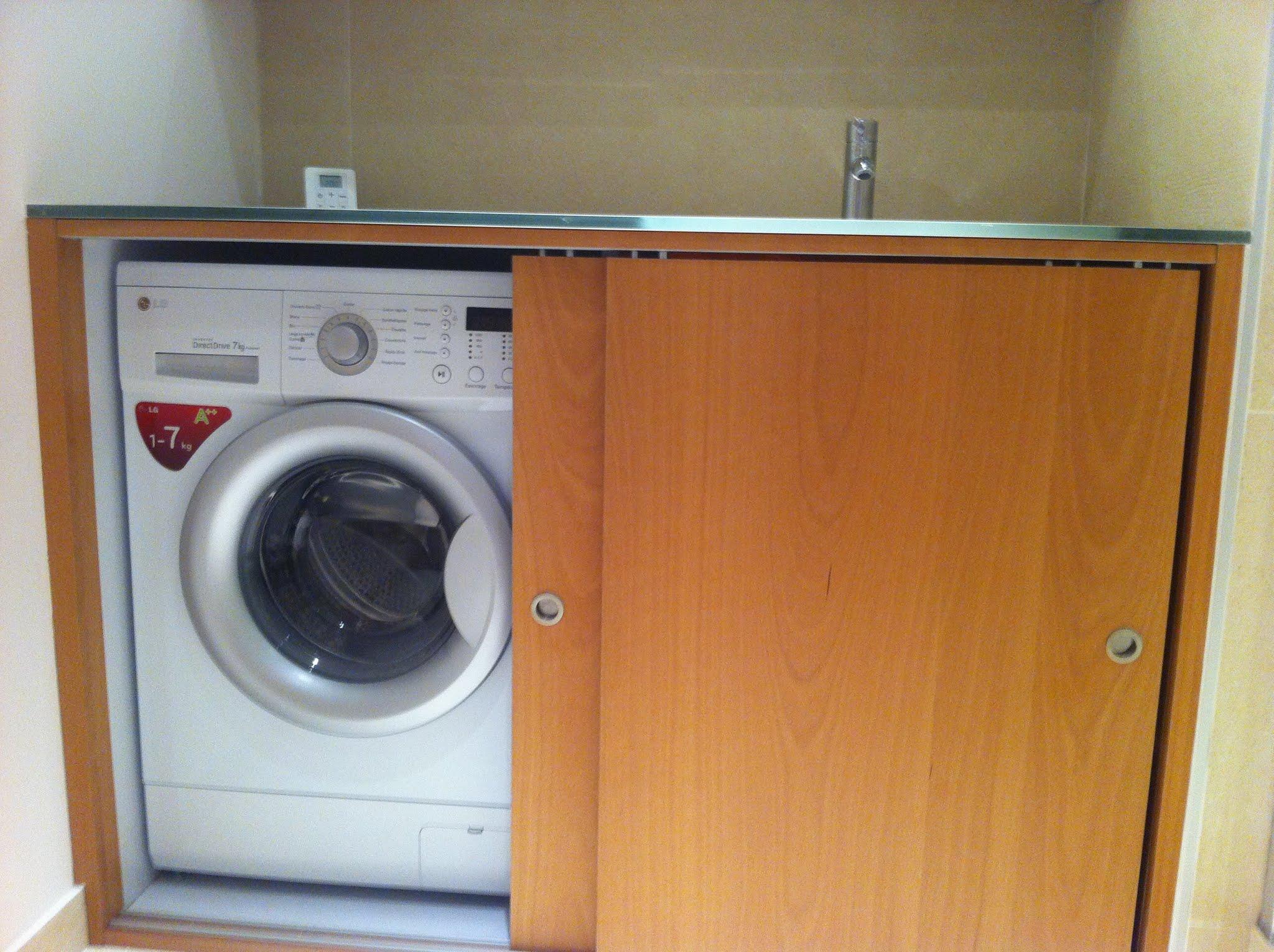 Salle de bain lavabo lave linge salle de bain lavabo lave - Machine a laver sous lavabo ...