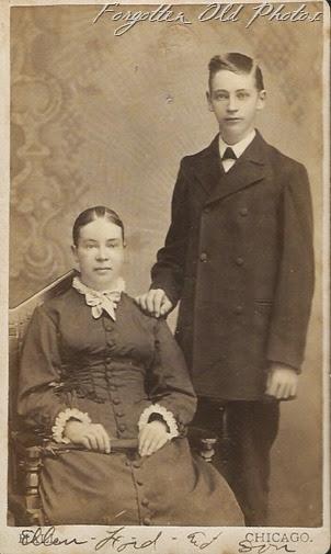 Ellen and son  CP