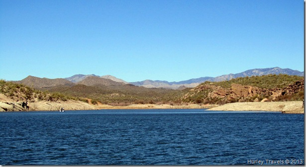 Lake Pleasant in Arizona.