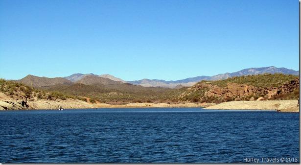 Lake Pleasant in Arizona.