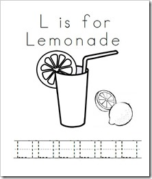 L is for Lemonade Clip