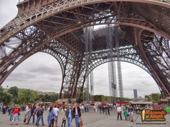 Visitar Torre Eiffel 1