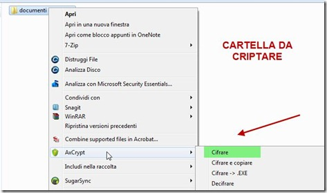 axcrypt-criptare