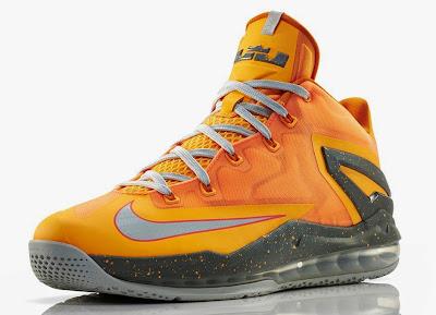 nike lebron 11 low floridians 1 04 Nike LeBron 11 Low Atomic Mango aka Floridians