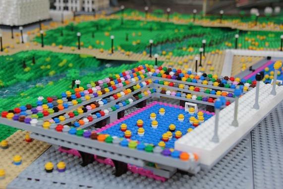 Parque Olímpico de Londres em Lego 6