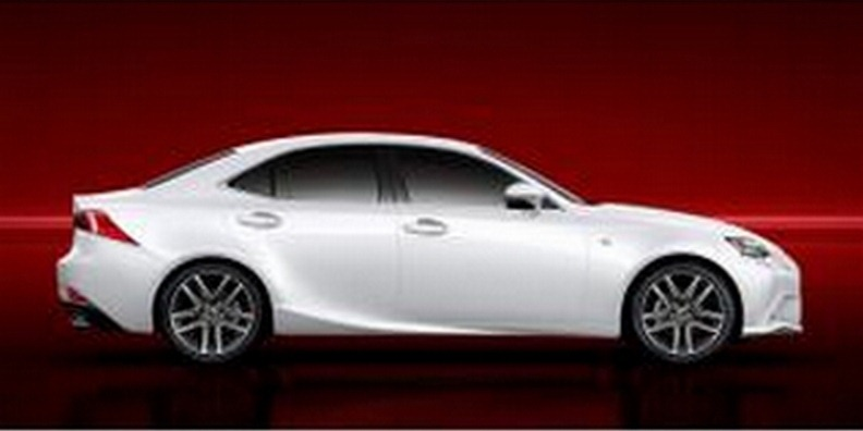 First Official Photos of All-New 2014 Lexus IS Sedan in F Sport Guise
