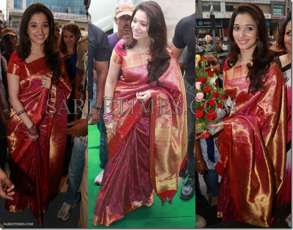 Tamanna_Pink_Traditional_Saree
