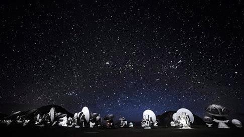 [Video] Impresionante timelapse del telescopio ALMA