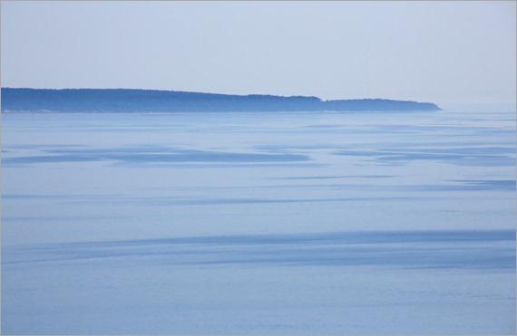 Mysterious Lake Michigan