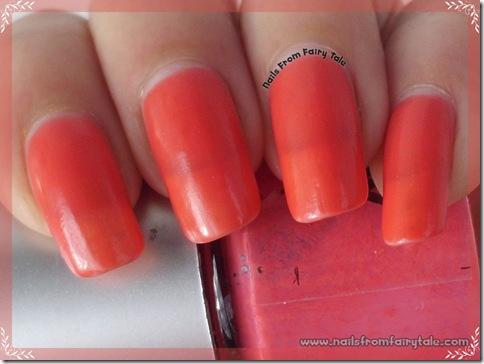 ylin mood nail polish - pink red 2