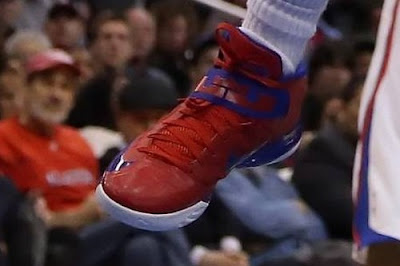 nike zoom soldier 6 pe eric bledsoe clippers 02 Eric Bledsoes Nike Soldier VI Los Angeles Clippers PE