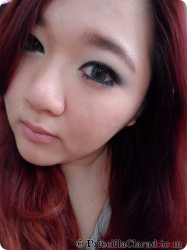 Park Bom Inspired Makeup Falling in Love Priscilla FOtd2