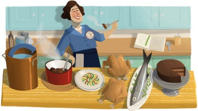 julia child logo
