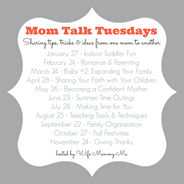 Mom Talk Tuesday List