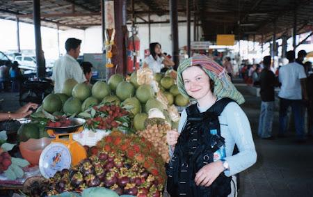 Imagini Thailanda: piata de fructe