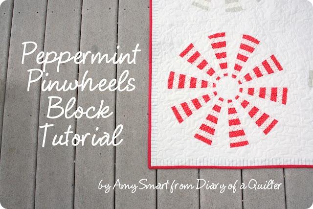 peppermint pinwheels tutorial