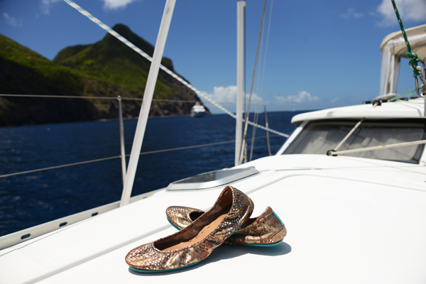 Tieks boat shoes