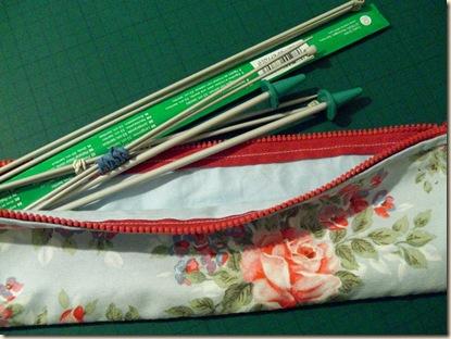 Cath Kidston Lined Knitting Needle Case