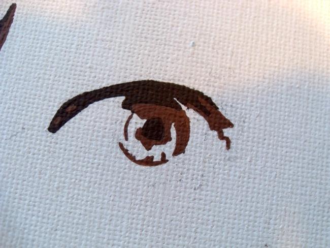 Maling af øje