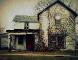 """Highway House/Viola, Illinois"" - copyright Jane Carlson"