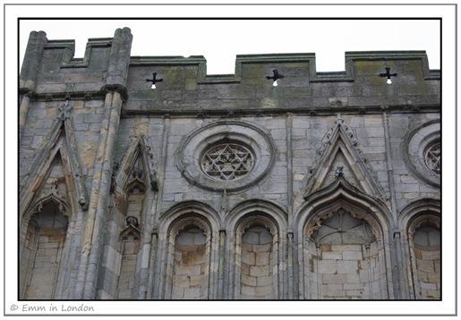 Abbey Gate closeup