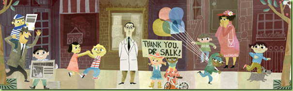 google dr. salk birthday