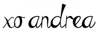 Blog Signature | personallyandrea.com