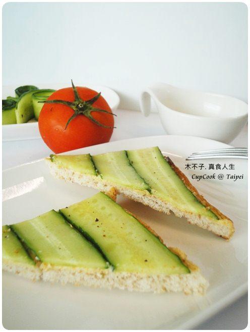 奶油小黃瓜烤吐司 cucumber (6)