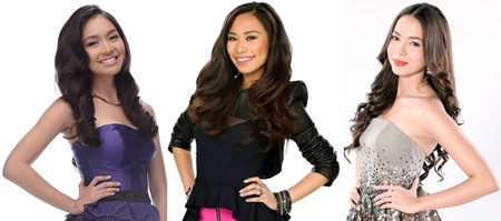 Teen idols Kathryn Jessica and Julia