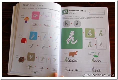 Kumon Cursive ~ Our Aussie Homeschool