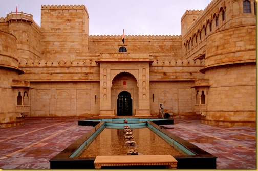 Suryagarh Jaisalmer, Eight days in Rajasthan, photo of Suryagarh in Jaisalmer