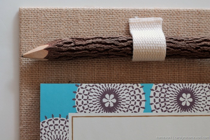 Easy Canvas Notepad Holder via homework (6)
