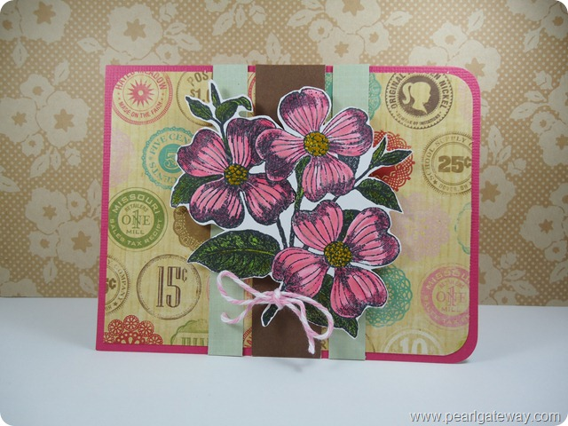 Dogwood Flower Card (3)