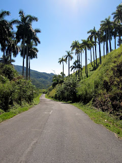 Smooth mountain riding, Pinar del Rio Province.