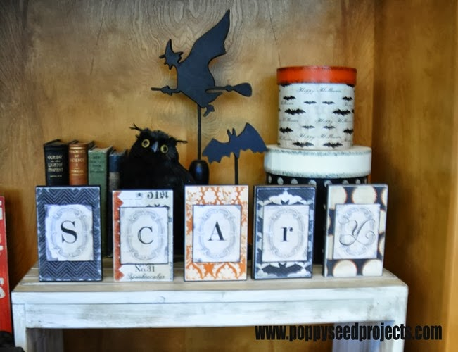 DIY Halloween Scary Banner