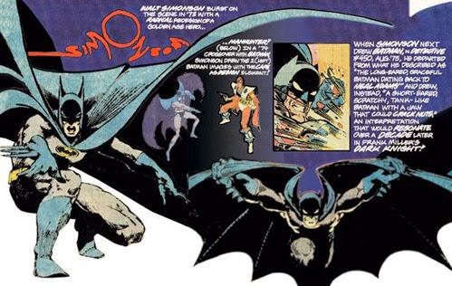 batman by simonson 1977