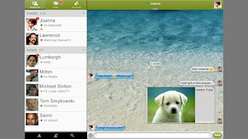 Screenshot of BeejiveIM for AIM Messenger
