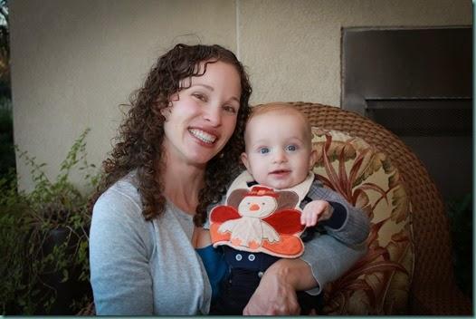 Mommy & Noah Turkey Bib