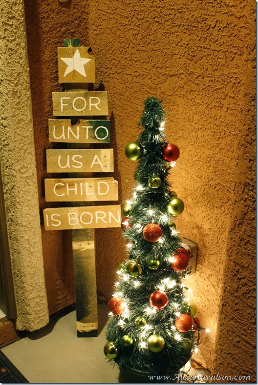 pallet wood Christmas tree5