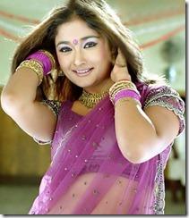 kiran-rathod-in saree