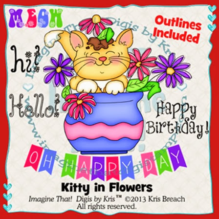 PROMO Kitty in Flowers M5D