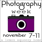 Photography Week Button, Purple 2