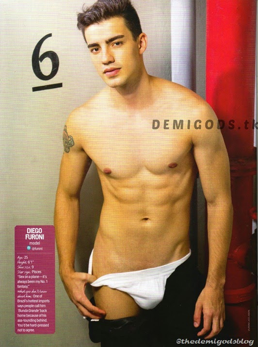 Cosmo Centerfolds 2014 Tower 69 DEMIGODS (1) Diego Furoni 1