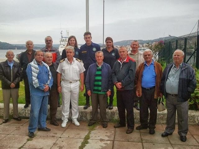 Επίσκεψη αποστράτων Αξιωματικών στο Λ/Χ Κεφαλληνίας.