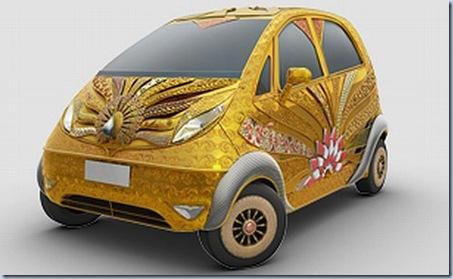 gold nano car