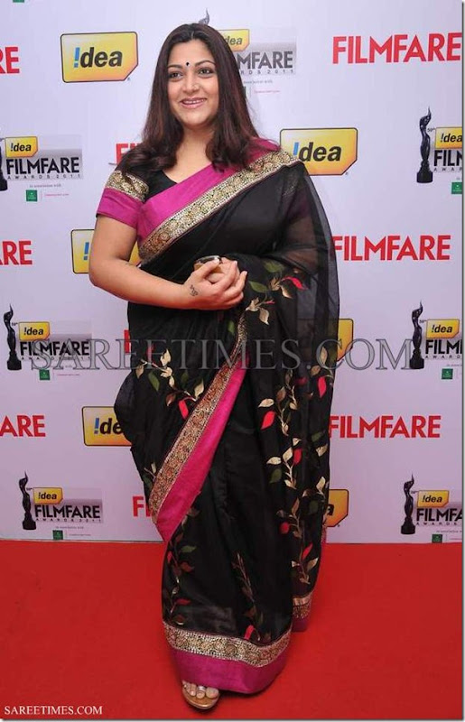 Kushboo_Black_Gorgeous_Saree