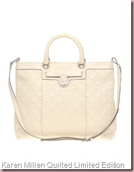 Karen Millen Quilted Limited Edition Shopper